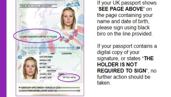 Passport Changes